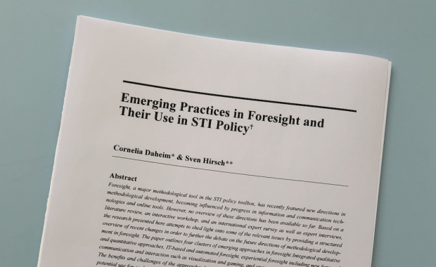 Studie Emerging Practices in Foresight
